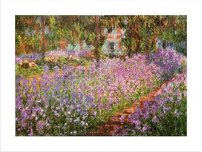 Claude monet painting giverny picture poster print by claude oscar monet - Livre le jardin de monet ...
